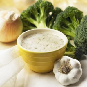 HIGH PROTEIN CREAM OF BROCCOLI SOUP