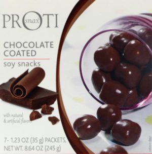 chocolate proti snax puffs soy snacks