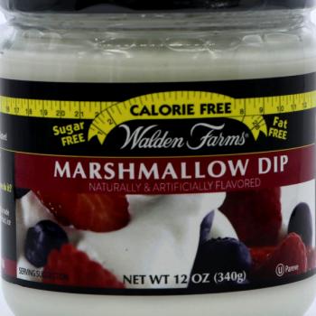 marshmallow dip sugar free
