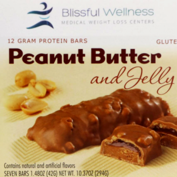peanut butter and jelly protein bars