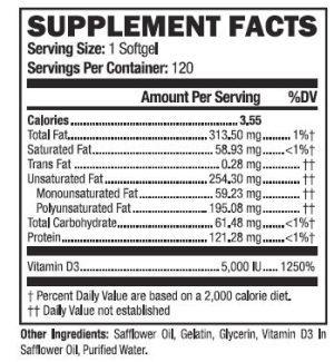 vitamin DE 5000iu