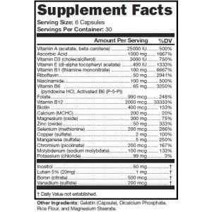 low carb multivitamin