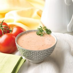 low carb Zesty Italian Cream of Tomato soup
