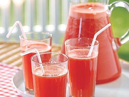 strawberry banana punch recipe
