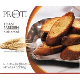 low carb toast parisien