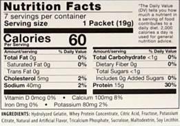 low calorie fruit juice