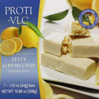 lemon crisp protein bar