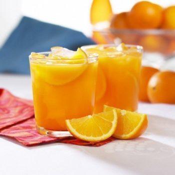 high protein orange juice
