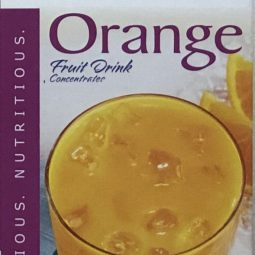 low carb orange juice