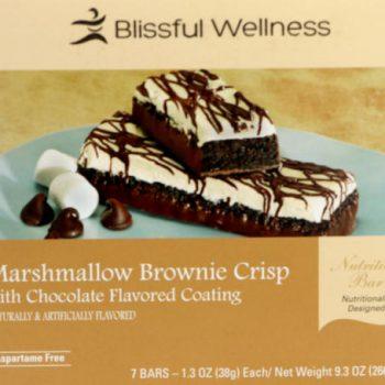 marshmallow brownie protein bar