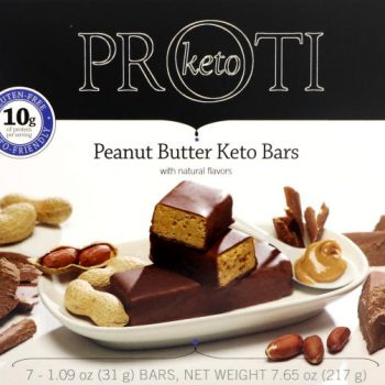 peanut butter protein bar keto