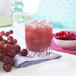 high protein cranberry grape drink