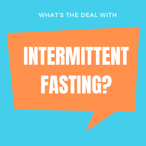Intermittent Fasting over 40