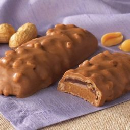 crispy peanut butter jelly protein bar