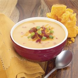 bacon and cheddar soup