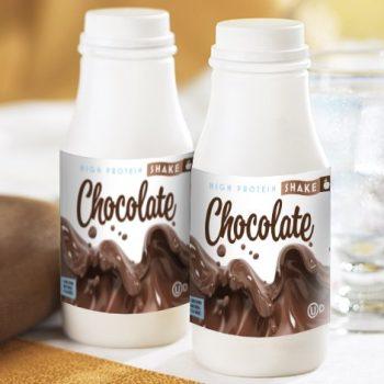 thick chocolate protein shake