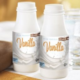thick vanilla protein shake