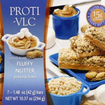 fluffy nutter protein bar