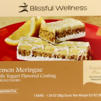 lemon meringue protein bar