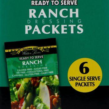 ranch dressing packets zero calorie